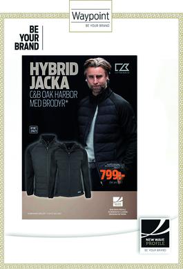 Cutter & Buck Hybrid Jacka