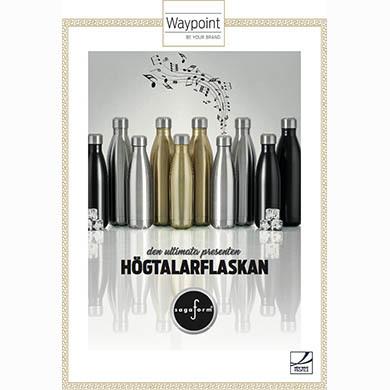 Sagaform Högtalarflaska